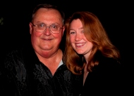 Radio great, friend and mentor Fred Snyder with Karen Hendricks