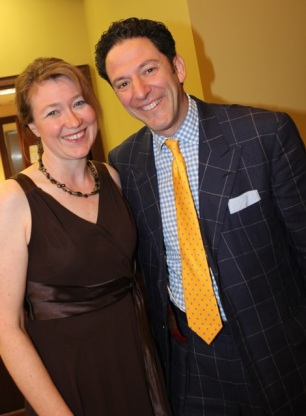 Providing PR for a John Pizzarelli jazz concert