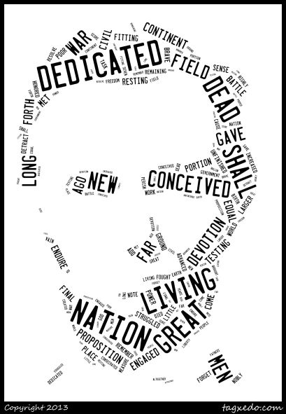 Lincoln Word Art