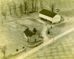 Aerial photo of Beech Springs Farm, circa 1940s-50s