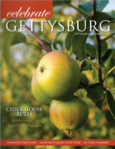 Celebrate Gettysburg magazine sept-oct 2014