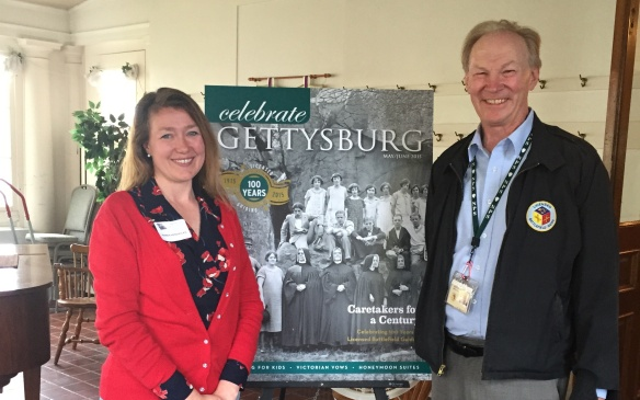 Behind the Cover: It was my honor to celebrate the current issue's release with Joe Mieczkowski, President of the Gettysburg Association of Licensed Battlefield Guides, who was an instrumental source for this cover story!