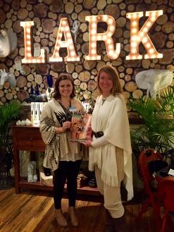 "Celebrate Gettysburg editor Krista Scarlett and I enjoy debuting the Nov/Dec 2015 issue at ""Behind the Cover,"" held at Lark, Gettysburg"
