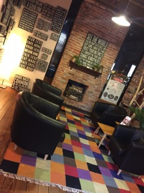 Timbrel Wallace, owner of Lark, creates a fun, inviting space