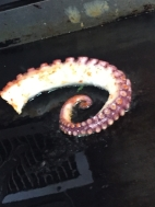 Octopus... Chef Fidler's favorite entree