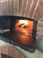Cozy glow: Fidler's Roman-style bread oven