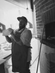 A menu staple: brick oven pizza