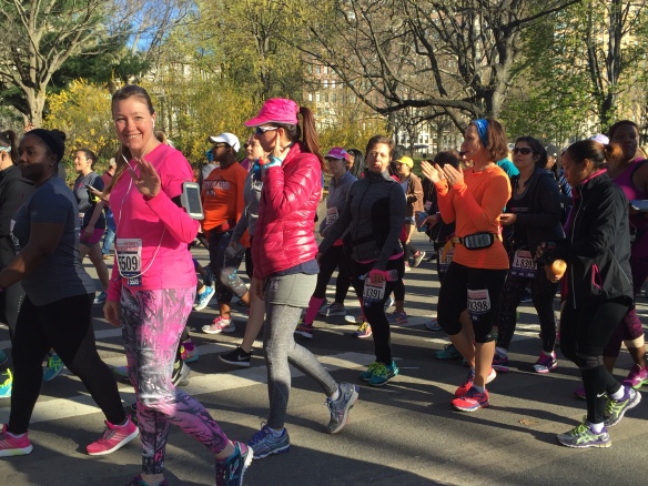 NYC Women's Half Marathon 1