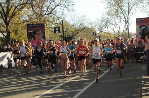 NYC Women's Half Marathon 7