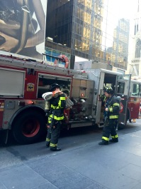 Spontaneous: Seeing NYC's incredible firefighters in action
