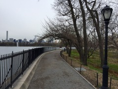 NYC on the run: what's around the bend, Central Park Reservoir