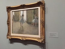 The Dancing Lesson, Edgar Degas, 1877, MoMA