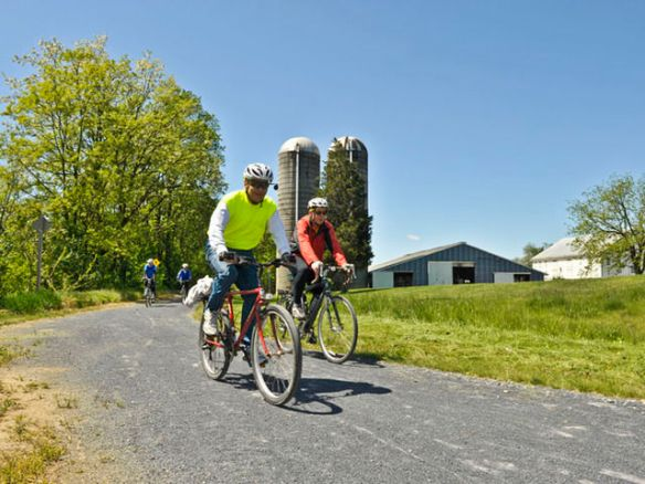 Cumberland Valley Rail Trail / Credit: Cumberland County Visitors Bureau
