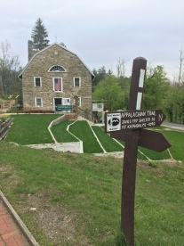 The A.T. Museum, located right along the trail