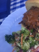 Smokey Pulled Pork & Broccoli Salad