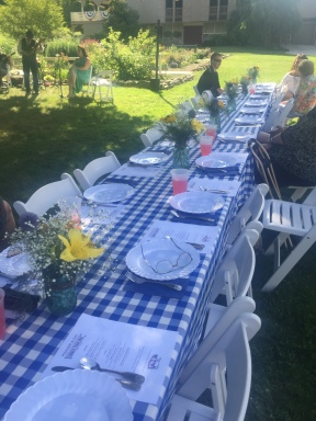 Farm-to-table, al fresco