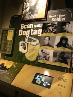 "Each visitor's ""dog tag"" reveals an actual soldier's story"