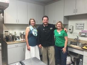 Chef Jeremy with my friend Sharon & I