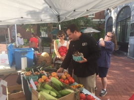 The Gettysburg Farmers' Market on Lincoln Square
