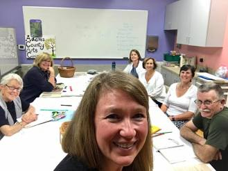 BuJo Workshop: Sharing creative writing and organizing skills via a Bullet Journaling Workshop, Adams County Arts Council, Gettysburg PA.