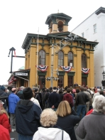 Rededication of the Historic Gettysburg Railroad Station, Nov. 2006, shot for the Borough of Gettysburg
