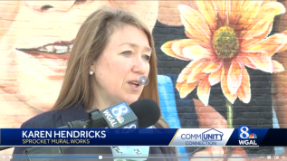 PR Spokesperson for the nonprofit Sprocket Mural Works
